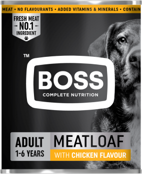 Boss Meatloaf with chicken flavour