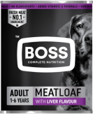 Boss Meatloaf with liver flavour